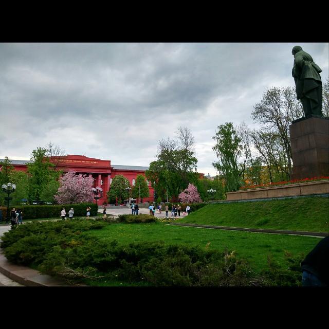 #Kiev #park #flowers #spring #may