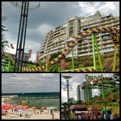#Одесса #пляжи :) #Аркадия #Ланжерон очень понравились и сами пляжи, и припляжная зона. Прошли и по Аллее здоровья! / #Odessa #Ukraine -  we liked Arkadia and Langeron beach very much.