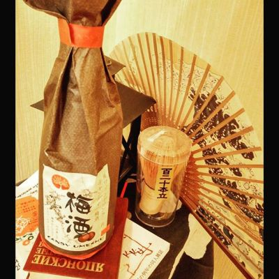 Маленький домашний праздник. Сливовое вино в японском стиле:) / Plum wine, in japanese style:) #wine #japan