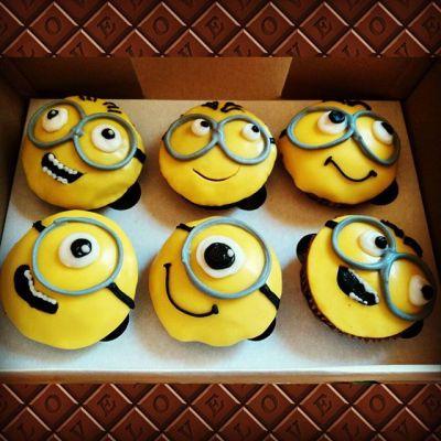 Kid's #birthday #cupcakes - #minions :)
