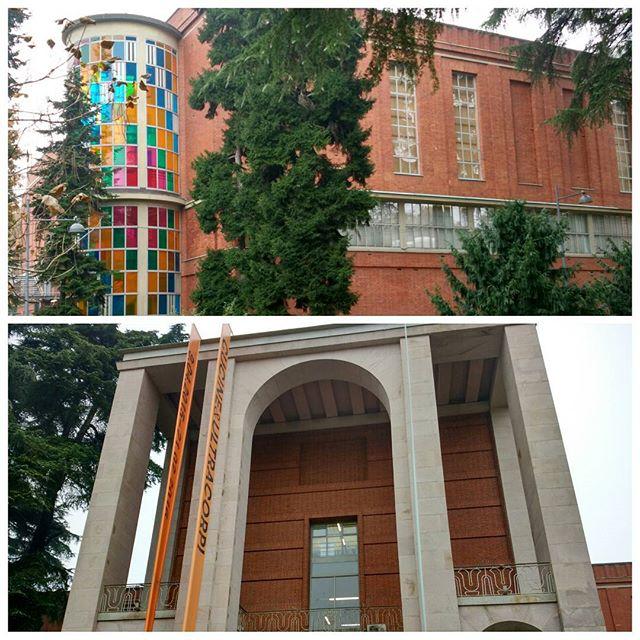Триенале - галерея и музей дизайна. Экспозиция пока не заинтересовала, так что просто побродила :) #trienale #museum #milan #milano #italia #italy