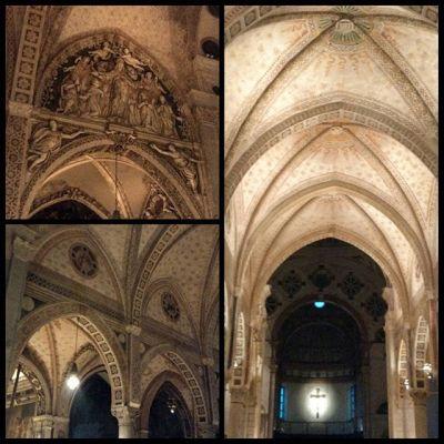 Santa Maria delle Grazie - немного внутреннего убранства. К сожалению, я не смогла попасть к Тайной Вечере, но и остальная часть церкви очень впечатляет. #church #santamariadellegrazie #milan #italy #travel