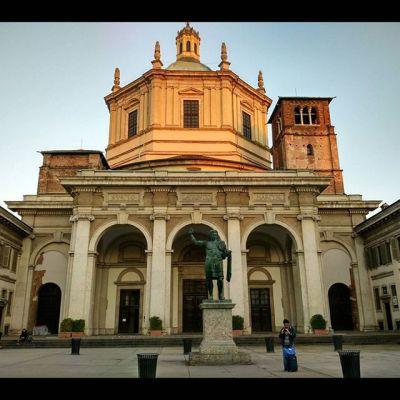 #milano #italy #basilica  #cathedral #church
