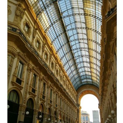 Галерея Виктора Эммануила, тоже #shopping destination в Милане :) #milano #italy #gallery #galleryvittorioemanuele