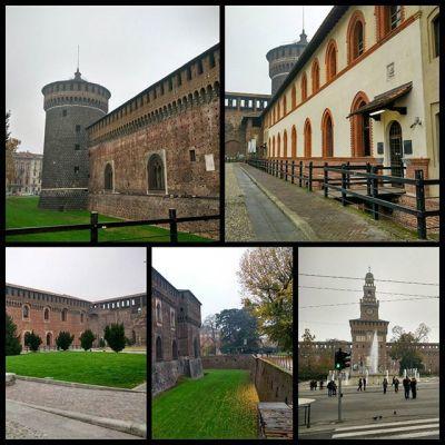 Замок Кастелло Сфорцеско #castellosforzesco #castello #milano #milan #italy #italia #castle