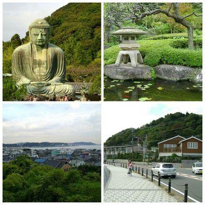 And another birthday #memories : #Kamakura #BigBuddha , #Hasedera  and walk along #seaside :) #latepost #Tokyo #Japan