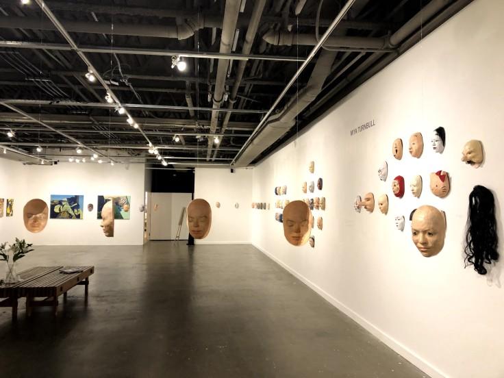Выставка масок в японском культурном центре JCCC