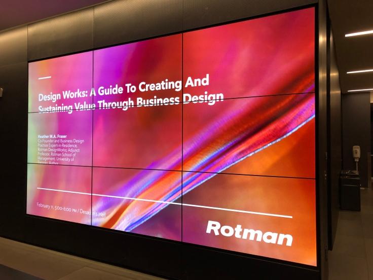 Лекция в Rotman School of Management, Торонто