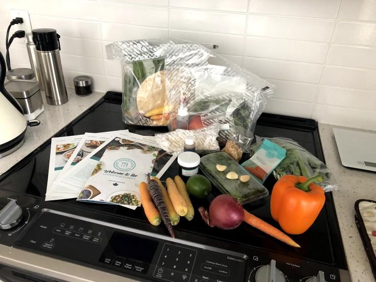 Анбоксинг доставки продуктов по рецептам в Торонто: блог