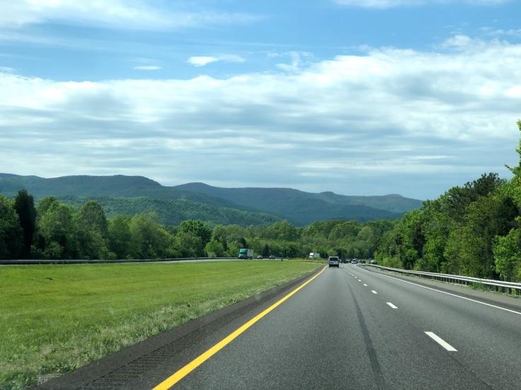 Аппалачи -- едем через горы в Теннесси