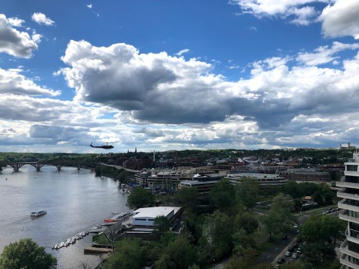 Вид на Вашингтон с высот Вотергейта