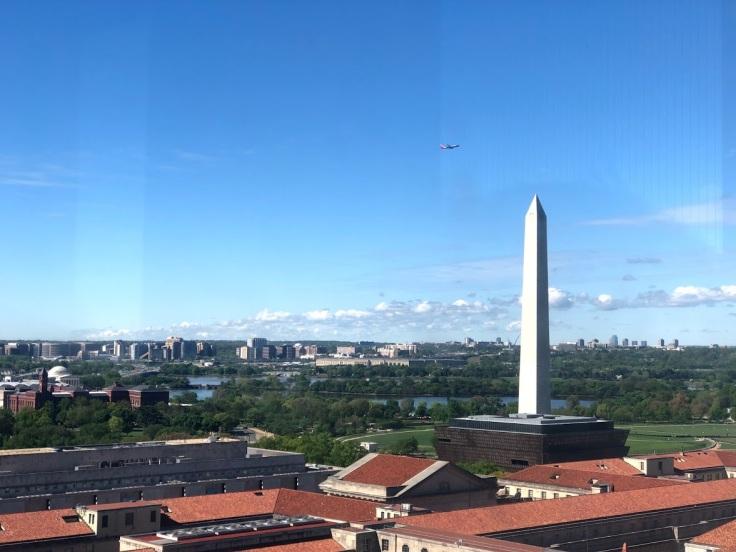Вид на Вашингтон с высоты почтового ведомства